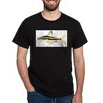 Golden Pencilfish tropical fish Amazon Dark T-Shir