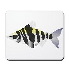 Highbacked Headstander tropical fish Mousepad