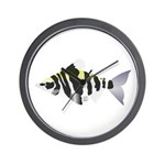 Highbacked Headstander tropical fish Wall Clock