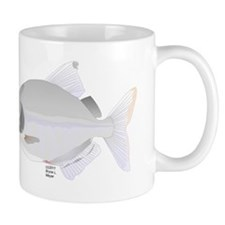 SIlver Dollar fish tropical Amazon river Mug