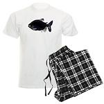 Black Pacu fish tropical Amazon Men's Light Pajama