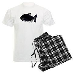 Black Pacu fish tropical Amazon Pajamas