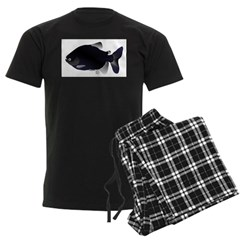 Black Pacu fish tropical Amazon Pajamas