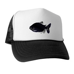Black Pacu fish tropical Amazon Trucker Hat