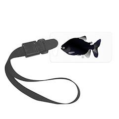 Black Pacu fish tropical Amazon Luggage Tag