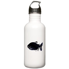 Black Pacu fish tropical Amazon Water Bottle