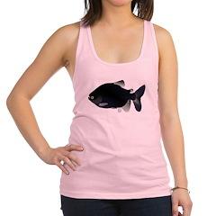 Black Pacu fish tropical Amazon Racerback Tank Top