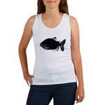 Black Pacu fish tropical Amazon Women's Tank Top