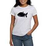 Black Pacu fish tropical Amazon Women's T-Shirt