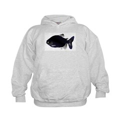 Black Pacu fish tropical Amazon Hoodie