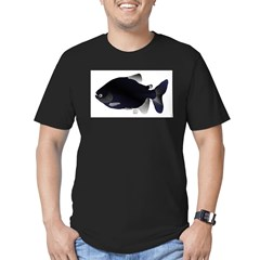 Black Pacu fish tropical Amazon T