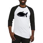 Black Pacu fish tropical Amazon Baseball Jersey