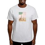 Giraffe Ash Grey T-Shirt