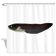 Electric Eel (Knifefish fish) Shower Curtain