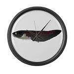 Electric Eel (Knifefish fish) Large Wall Clock