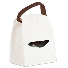 Electric Eel (Knifefish fish) Canvas Lunch Bag