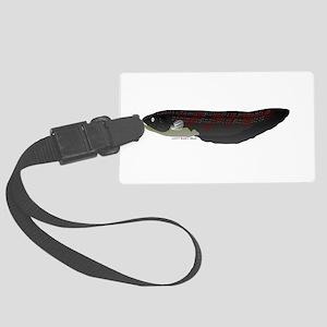 Electric Eel (Knifefish fish) Large Luggage Tag