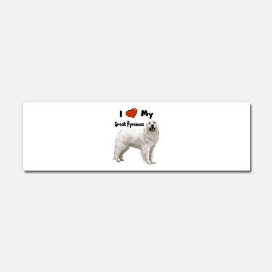 Cute Doggie t Car Magnet 10 x 3