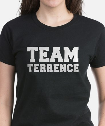 TEAM TERRENCE Women's Dark T-Shirt