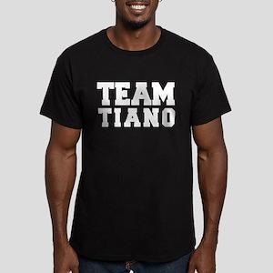 TEAM TIANO Men's Fitted T-Shirt (dark)