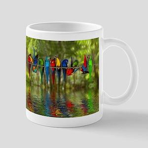 Perching Parrots Mug