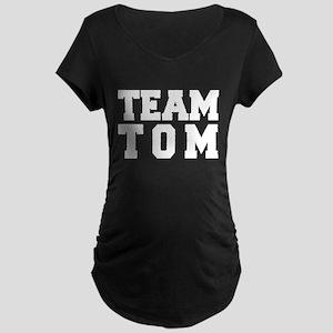 TEAM TOM Maternity Dark T-Shirt