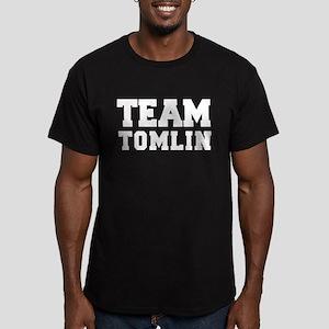 TEAM TOMLIN Men's Fitted T-Shirt (dark)