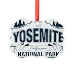 Yosemite Slate Blue Picture Ornament