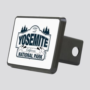 Yosemite Slate Blue Rectangular Hitch Cover