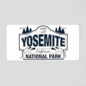 Yosemite Slate Blue Aluminum License Plate