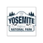 Yosemite Slate Blue Square Sticker 3