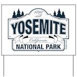 Yosemite Slate Blue Yard Sign