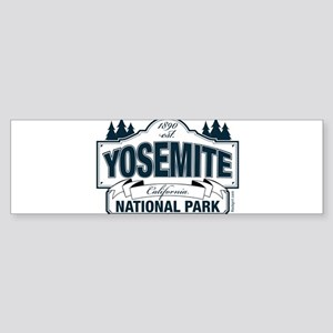 Yosemite Slate Blue Sticker (Bumper)