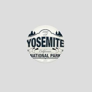 Yosemite Slate Blue Mini Button