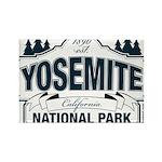 Yosemite Slate Blue Rectangle Magnet