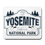 Yosemite Slate Blue Mousepad