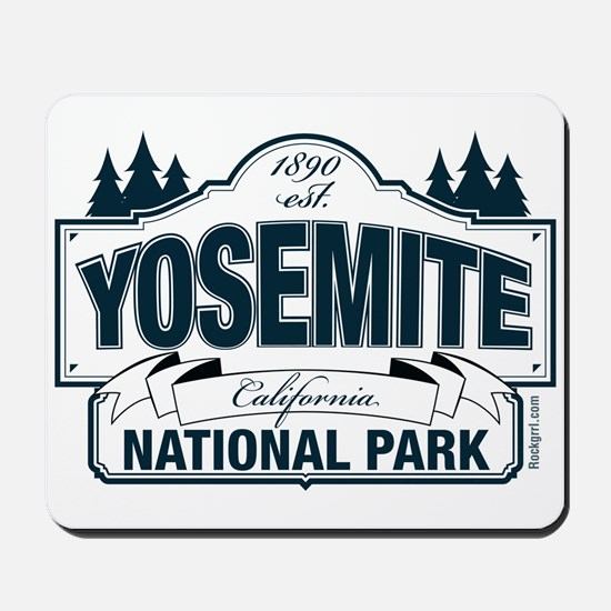 Yosemite Slate Blue Mousepad