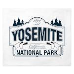 Yosemite Slate Blue King Duvet