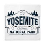 Yosemite Slate Blue Queen Duvet