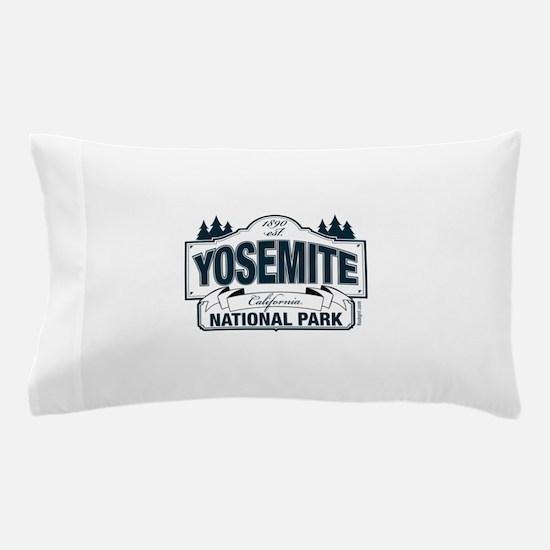 Yosemite Slate Blue Pillow Case