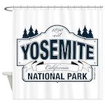 Yosemite Slate Blue Shower Curtain