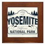 Yosemite Slate Blue Framed Tile
