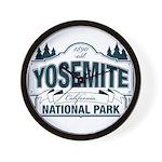 Yosemite Slate Blue Wall Clock