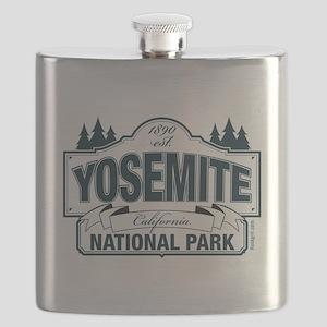 Yosemite Slate Blue Flask