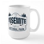 Yosemite Slate Blue Large Mug