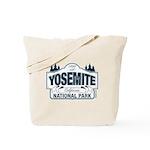 Yosemite Slate Blue Tote Bag