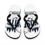 Yosemite Slate Blue Flip Flops