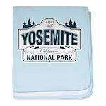 Yosemite Slate Blue baby blanket