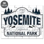 Yosemite Slate Blue Puzzle