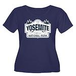 Yosemite Slate Blue Women's Plus Size Scoop Neck D